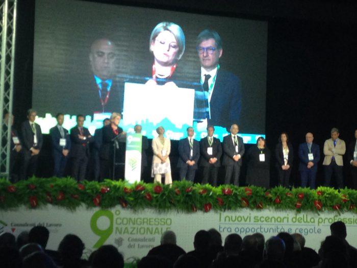 Calderone dà il via al 9° Congresso Nazionale dei Consulenti del Lavoro